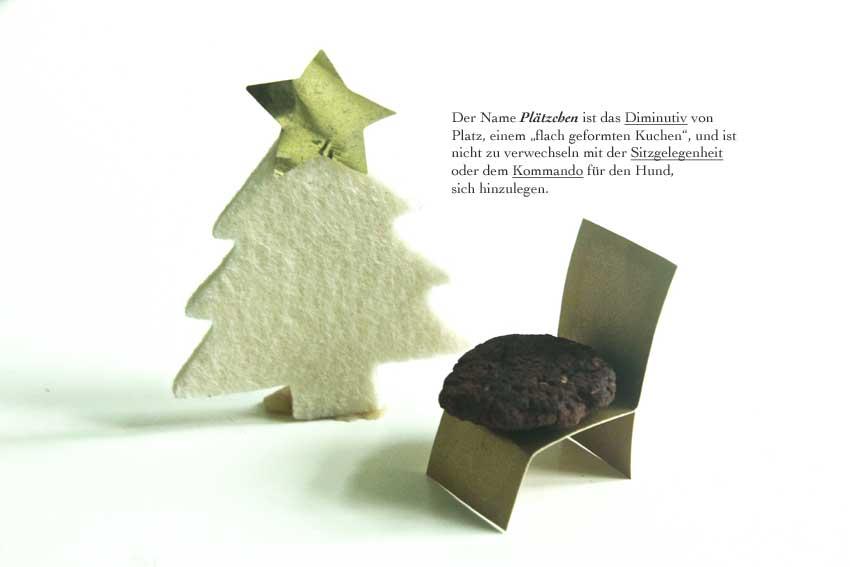 Weihnachtsplätzchen aus Hülsenfrüchten