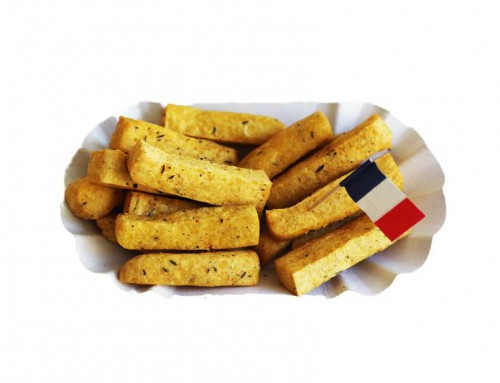 Chickpea Fries ::: Kichererbsen-Fritten