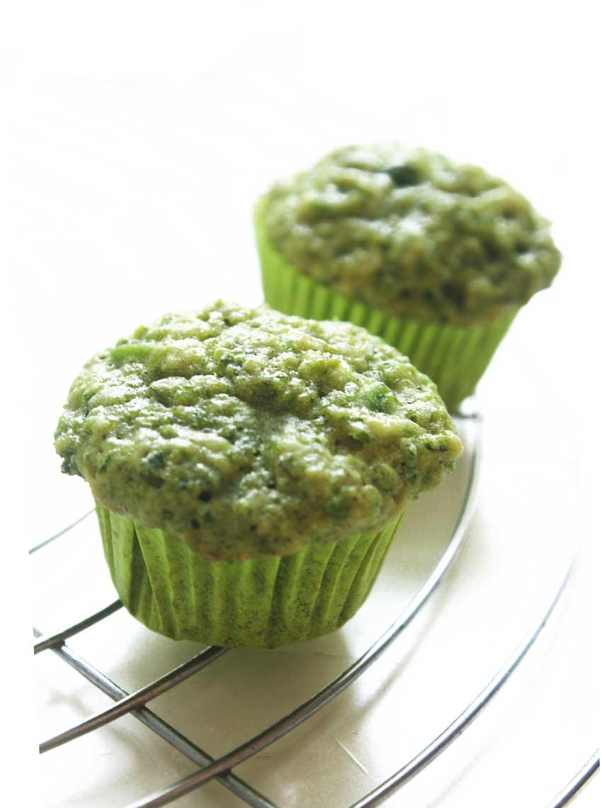 Erbsen-Muffins