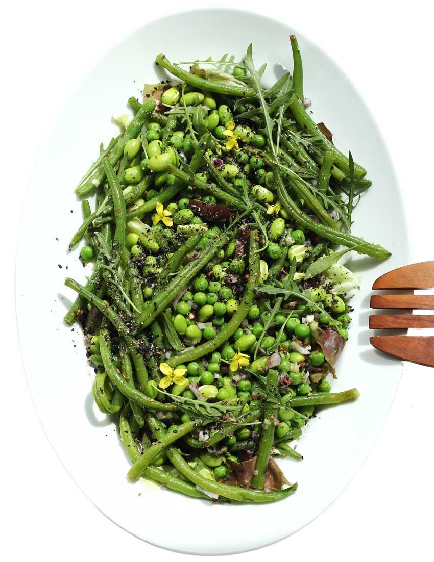 Grüne Bohnen-Salat