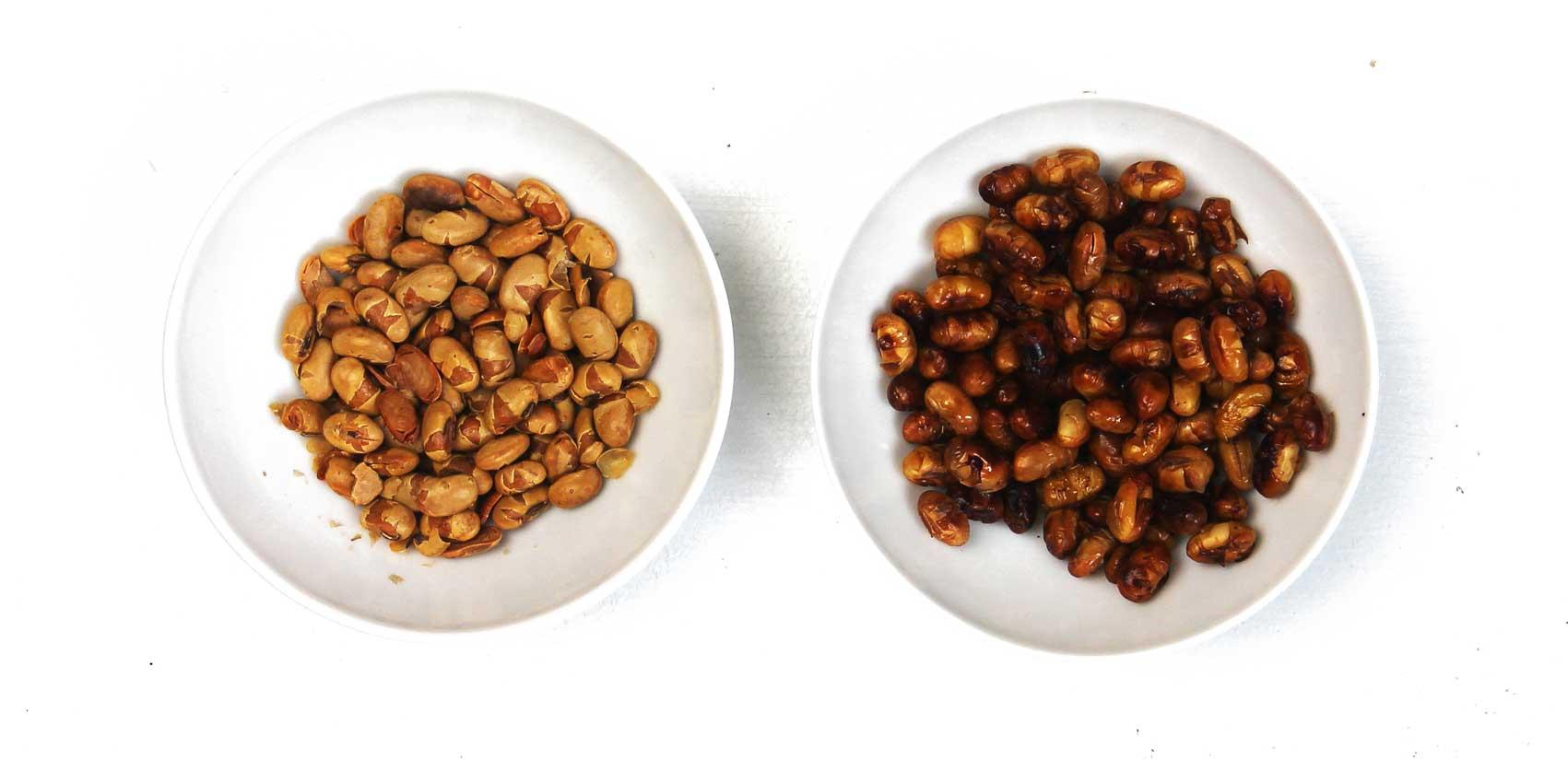 geröstete Sojabohnen