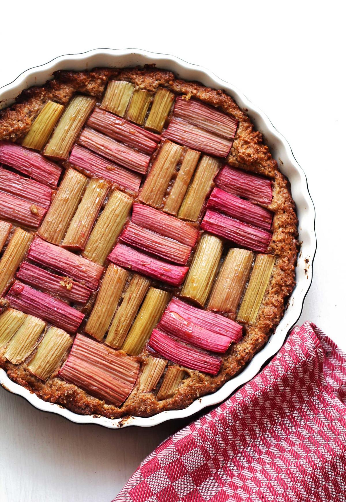 Rharbarberkuchen