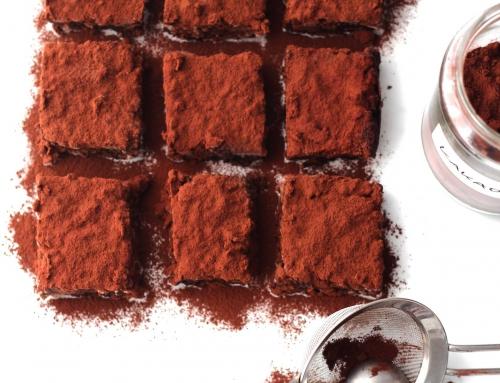 Bohnen-Brownies aus heimischen Ackerbohnen